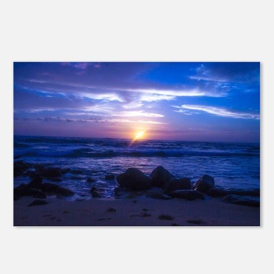 Beautiful blue Kauai suns Postcards (Package of 8)