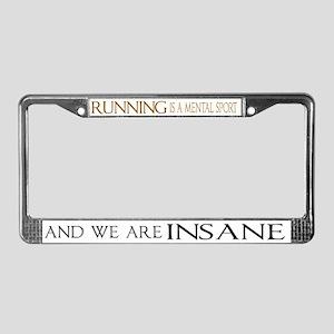 Mental Sport License Plate Frame