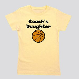 Basketball Coachs Daughter Girl's Tee