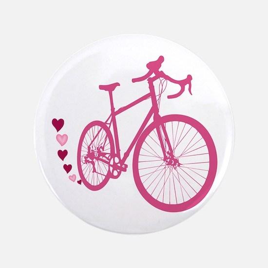 """Bike Love 3.5"""" Button"""