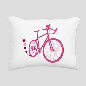 Bike Love Rectangular Canvas Pillow