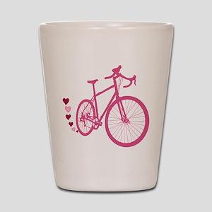 Bike Love Shot Glass