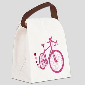 Bike Love Canvas Lunch Bag