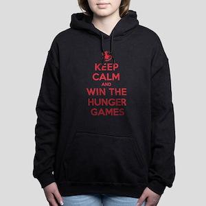 K C Win Hunger Games Hooded Sweatshirt