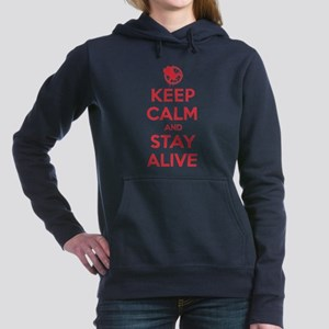 Keep Calm Stay Alive Hooded Sweatshirt