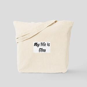 Life is film Tote Bag