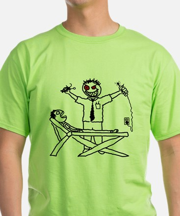 Evil Dentist (with patient) T-Shirt