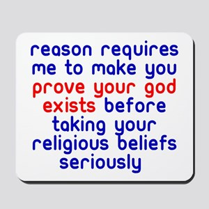 Reason Requires Mousepad