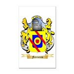 Ferrieres Rectangle Car Magnet