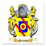 Ferrieres Square Car Magnet 3