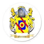 Ferrieres Round Car Magnet