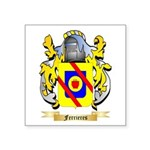 Ferrieres Square Sticker 3
