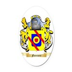 Ferriere Oval Car Magnet