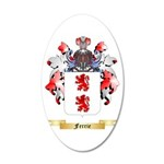 Ferrie 20x12 Oval Wall Decal