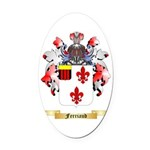 Ferriaud Oval Car Magnet