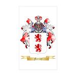 Ferrey Sticker (Rectangle 50 pk)