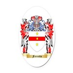 Ferretto Oval Car Magnet