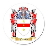 Ferretto Round Car Magnet