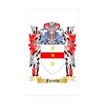 Ferretto Sticker (Rectangle 10 pk)