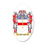 Ferretto 20x12 Oval Wall Decal
