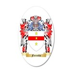 Ferretto 35x21 Oval Wall Decal