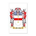 Ferretto 35x21 Wall Decal