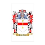 Ferrettino Sticker (Rectangle 50 pk)