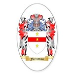 Ferrettino Sticker (Oval 50 pk)