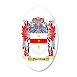 Ferrettino 20x12 Oval Wall Decal