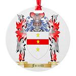 Ferretti Round Ornament