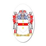 Ferretti 35x21 Oval Wall Decal