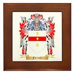 Ferretti Framed Tile