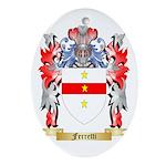 Ferretti Ornament (Oval)