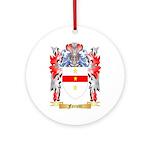Ferretti Ornament (Round)