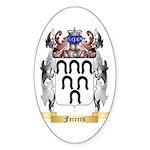 Ferrers Sticker (Oval 10 pk)