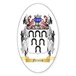 Ferrers Sticker (Oval 50 pk)