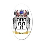 Ferrers 35x21 Oval Wall Decal