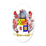Ferrerio Oval Car Magnet