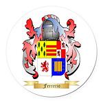 Ferrerio Round Car Magnet