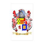 Ferrerio Sticker (Rectangle 50 pk)