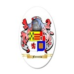 Ferrerio 20x12 Oval Wall Decal