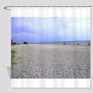 Relaxing Day on the Beach Shower Curtain