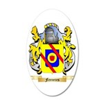 Ferreres 20x12 Oval Wall Decal