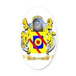 Ferreras Oval Car Magnet