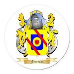 Ferreras Round Car Magnet