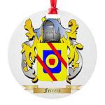 Ferrera Round Ornament