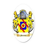 Ferrera Oval Car Magnet