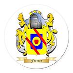 Ferrera Round Car Magnet
