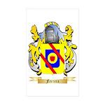 Ferrera Sticker (Rectangle 10 pk)