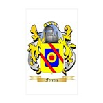 Ferrera Sticker (Rectangle 50 pk)